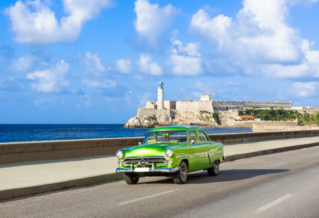 Moro Castle and Cuban Car